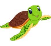 Cute turtle. Illustration of Cute turtle cartoon stock illustration