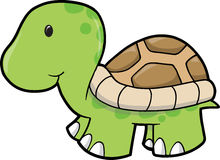 Cute Turtle Vector Illustration Royalty Free Stock Photography