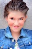 Cute Tween Girl Stock Images