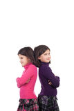 Cute twin sisters Royalty Free Stock Images