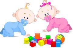 Free Cute  Twins Stock Photo - 10713060