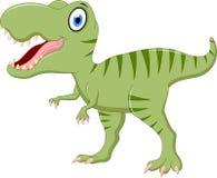 Cute tyrannosaurus cartoon Stock Photos