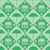 Cute umbrella pattern Royalty Free Stock Photos