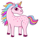 Cute unicorn Stock Photography