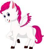 Cute unicorn cartoon vector illustration
