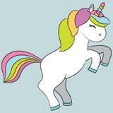 Cute unicorn. Stock Photo