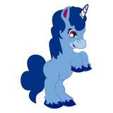 Cute Unicorn 5. Cute playful chirful joyful happy baby unicorn Stock Image