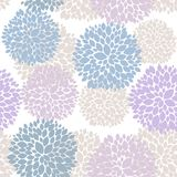 Cute unique floral seamless pattern. Eps 10 Royalty Free Stock Photography