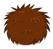 Cute unusual vector cartoon hedgehog Stock Photo