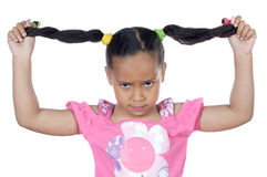 Cute upset girl Royalty Free Stock Images