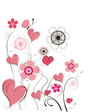 Cute  valentine background Stock Photography