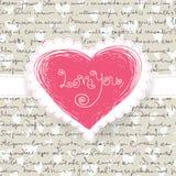 Cute Valentine Background Stock Photos