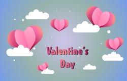 Cute valentine background illustration stock photo