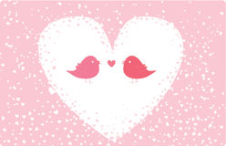 Cute valentine card Royalty Free Stock Photography