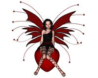 Free Cute Valentine Fairy - 1 Royalty Free Stock Image - 7877296