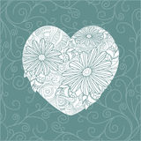 Cute valentine`s day card Royalty Free Stock Images