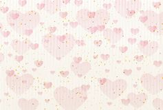 Cute illustration material of Valentine`s Day stock illustration