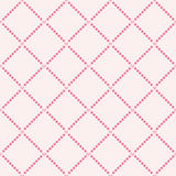 Cute valentine's seamless pattern with hearts Stock Image