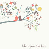 Cute vector background Stock Photos