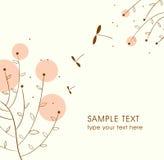 Cute vector card design Stock Photo