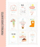 Cute Vector Christmas Cards and Stickers Stock Image