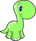 Cute Vector Dinosaur Royalty Free Stock Photos