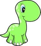 Cute Vector Dinosaur Royalty Free Stock Photos