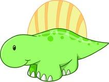Cute Vector Dinosaur Royalty Free Stock Image