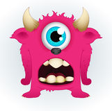 Cute Vector Monster Stock Image
