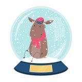 Cute vector snowball Royalty Free Stock Photos