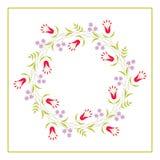 Cute Vector Wreath - Illustration Stock Photography