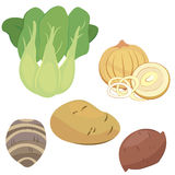 Cute vegetable collection 03 Stock Photography
