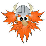 Cute viking Stock Image