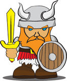 Cute Viking Royalty Free Stock Photos