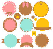 Cute Vintage Border. Vector File EPS10 Stock Image