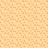 Cute Vintage Heart Pattern Stock Photography