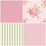 Cute vintage seamless shabby chic floral patterns for your decoration. Cute vintage seamless shabby chic floral pattern for your decoration, can be used as Royalty Free Stock Photos