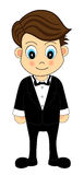 Cute Waiter Stock Images
