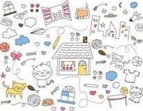 Cute wallpaper Stock Photography