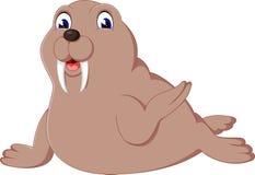 Cute walrus Stock Photo