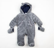 Cute warm suit for little children Royalty Free Stock Image