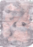 Cute watercolour abstract soft pastel monochromatic  handmade background  for design Stock Image
