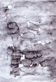 Cute watercolour soft gray  abstract handcrafted  backdrop for d Stock Image