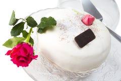 Cute wedding cake Royalty Free Stock Photo