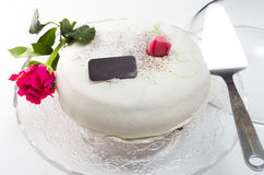 Cute wedding cake Royalty Free Stock Image