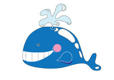 Cute whale Royalty Free Stock Photo