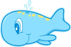 Cute Whale Vector Stock Photo