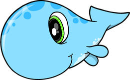 Cute Whale Vector Stock Photography