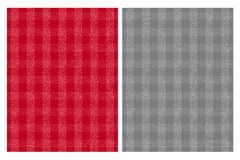 Cute White Grid Vector Patterns. Red and Gray Background. White, grey and White Illustration. Grid Made of Irregular Dots vector illustration