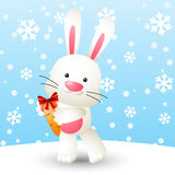 Cute white rabbit Royalty Free Stock Photo
